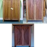 3 stringybark cupboards