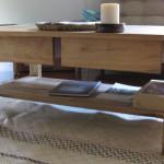 coffee table - camphor laurel