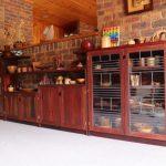 Music cupboard redgum