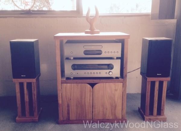 stringybark stereo cupboard