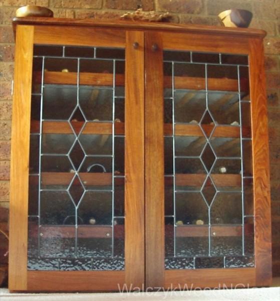 wine cupboard - blackwood