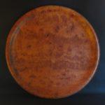 Birdseye redgum platter 520 mm diameter x 40 mm high