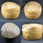 box pin oak 100 mm diameter x 80 mm high