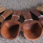 scoops, camphor laurel, silky oak, stringybark, banksia, jarrah