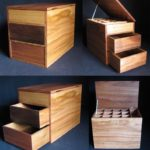 4 views of a stringybark box